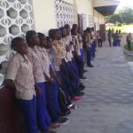 Alumnado de San Agustin (Kinkala)